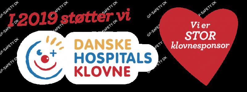 Sponsor danske hospitalts klovne